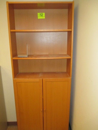 HUTCH/BOOKCASE 32 X 12X 80 IN. T
