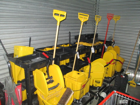 COMMERCIAL JANITORIAL CLEANING EQUIPMENT/SUPPLIES