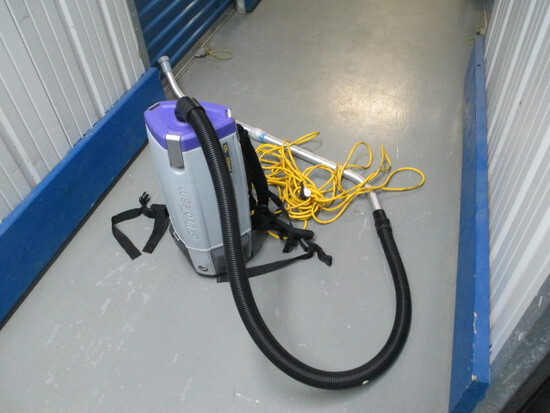 BACK PACK VAC,-SUPERCOACH PRO 10 WITH HOSE AND WAND-$400.00 RETAIL