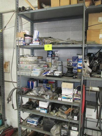 LOT-SUPPLIES- BRAKE PADS/OIL/FILTERS/BRAKE LININGS/HOSE/O RINGS/FUSES-APPROX 200 PCS.