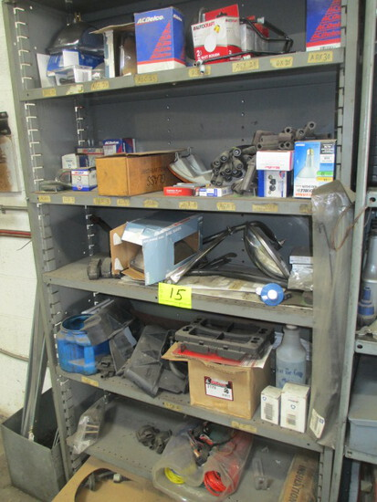 LOT-SUPPLIES-MISC. AIR LINE/WELDING ROD/ MIRRORS/WIRES/HEAD LIGHTS/AIR FILTER/BRAKE LINES