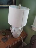 PAIR OF LAMPS-CLIMBING VINE DESIGN-LIVING ROOM
