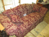 SINGLE CUSHION LIVING ROOM COUCH 90 IN.