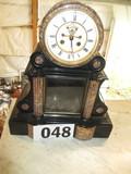 MANTLE CLOCK-ONYX 1920'S?