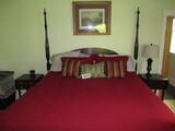 HENKEL HARRIS 4 POSTER BED-MAHOGANY EMPIRE STYLE-KING SIZE-HENKEL  HARRIS