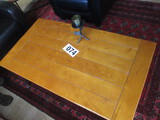 PLANK STYLE COFFEE TABLE 26 X48