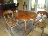 48 IN TABLE WITH 4 CHAIRS- SW MOTIFF