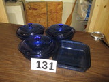 LOT-(4) COOK AND SERVE SETS