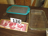 LOT-COOKING DISHES/BREAD TRAY