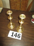 PAIR-CANDLE HOLDERS