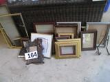 BOX LOT-ASST PICTURE FRAMES-APPROX 20 PCS