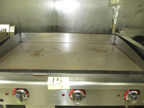 ELECTRIC GRIDDLE 36 IN. MAX MFG. 3 ZONES