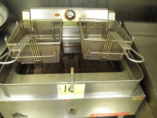 ELECTRIC DEEP FAT FRYER-2 BASKET