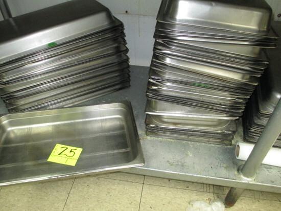 LOT-ASST. WELL PANS-APPROX. 50