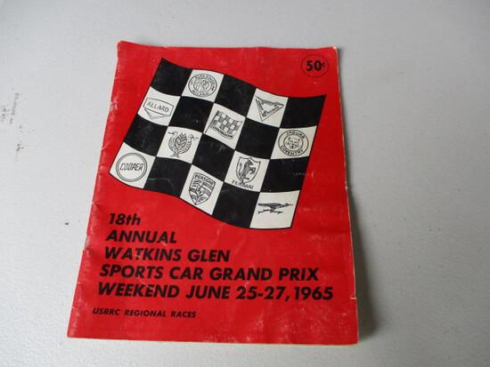 1965 RACING MAGAZINE-WATKINS GLEM