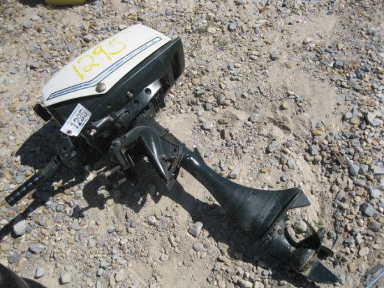 1295 5.5HP CLUTCH SHIFT SEARS BOAT MOTOR