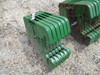 4667 6 JOHN DEERE FRONT WEIGHTS