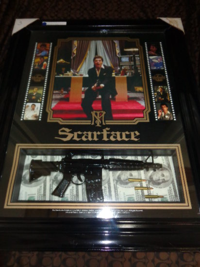 Scarface Shadow Box Display Auctions Online Proxibid