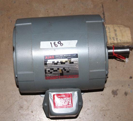 ajax 5 hp electric motor wire diagram ajax electric motor model bam 5 36 182t 3ph 5hp 60hz volts 208 230  ajax electric motor model bam 5 36 182t