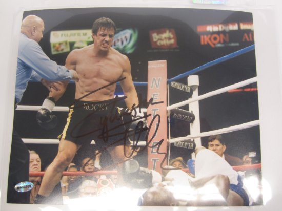 """Sylvester Stallone """"Rocky"""" signed autographed 8x10 Photo Certified Coa"""