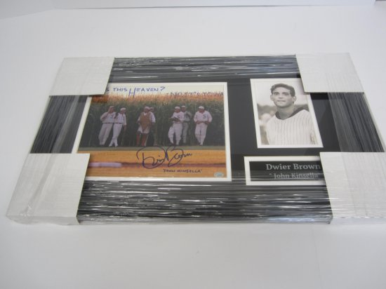 """Dwier Brown """"Field of Dreams"""" Framed signed autographed 8x10 Photo Certified Coa"""