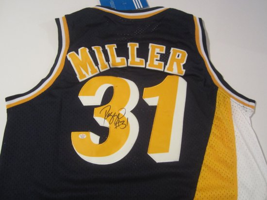 Reggie Miller Indiana Pacers signed autographed Jersey PAAS Coa