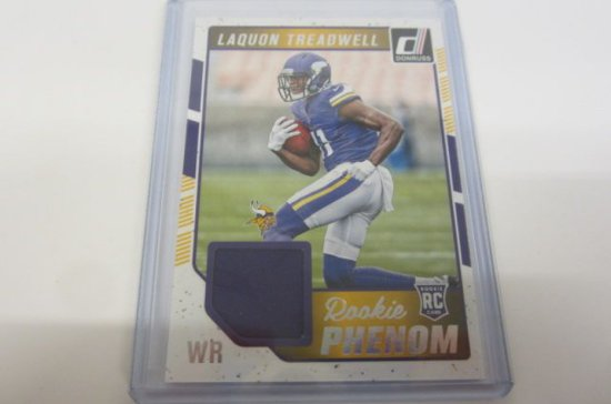 quality design 49a52 c94fc Laquon Treadwell Minnesota Vikings Piece of Game Used Jersey ...