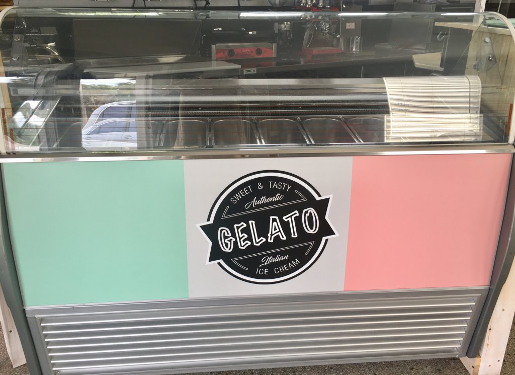 New GTI Designs Gelato Case with Dixell XR-60-CX Unit
