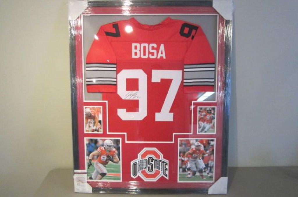 0701cda16 Joey Bosa Ohio State Buckeyes signed autographed Framed Jersey Certified  Coa ...