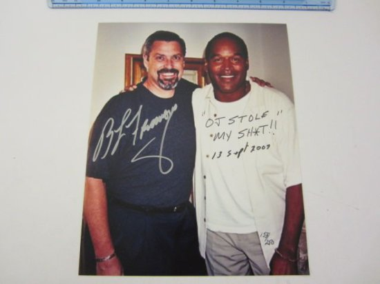 "BRUCE FROMONG Signed Autographed ""OJ Stole My Sh*t!"" Inscribed 8x10 Photo Certified CoA"