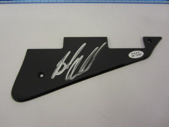 BRUCE SPRINGSTEEN Signed Autographed Guitar Pick Guard Certified CoA