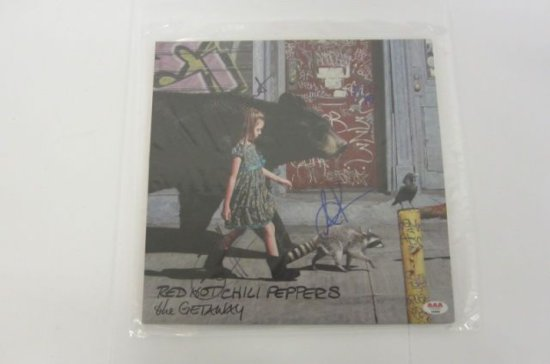 "RED HOT CHILI PEPPERS Signed Autographed ""The Getaway"" Record Album Certified CoA"