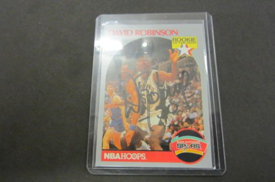 David Robinson 1990 Nba Hoops Auctions Online Proxibid