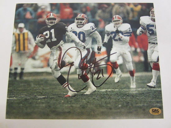 9c31b630b ERIC METCALF Cleveland Browns Signed Autographed 8x10 Photo Certified CoA