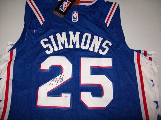 online store 0a2e2 efa0b Ben Simmons Philadelphia 76ers Signed Autographed basketball ...