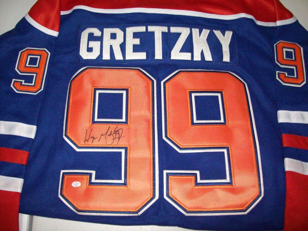 new arrivals a54cb 3fe4f Lot: Wayne Gretzky Edmonton Oilers Signed Autographed Hockey ...