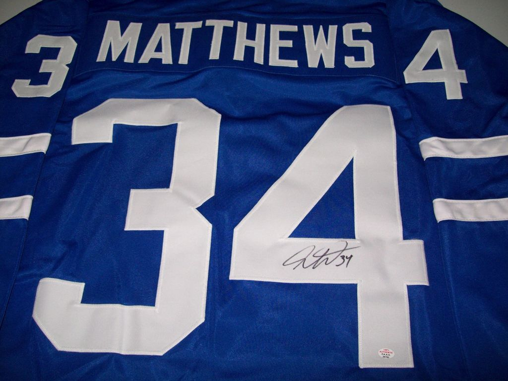 innovative design 09c5d 504e4 Lot: Auston Matthews Toronto Maple Leafs Signed Autographed ...