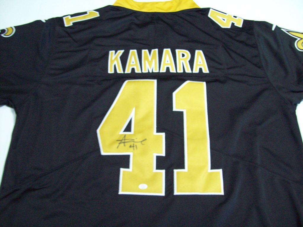 wholesale dealer 1f9a2 7a9a7 Lot: Alvin Kamara New Orleans Saints Signed Autographed ...