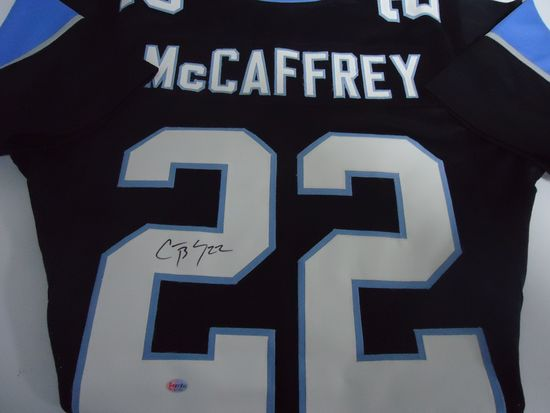 the best attitude 95710 afad2 Christian McCaffrey Carolina Panthers Signed autographed ...