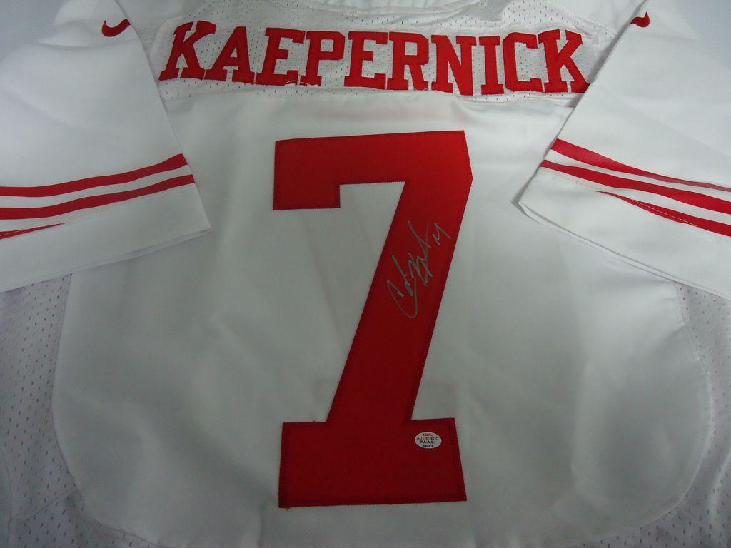huge sale 5d4b9 17894 Lot: Colin Kaepernick San Francisco 49ers Signed autographed ...