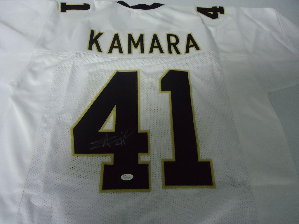 separation shoes 1d65d 76ecf Lot: Alvin Kamara New Orleans Saints Signed autographed ...