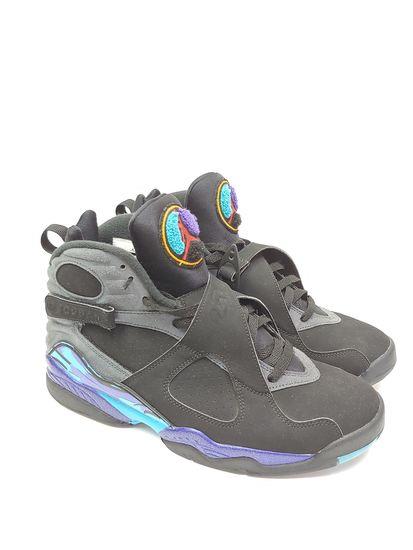 buy online 37359 0c58f Men s Nike AIr Jordan Retro 8 Aqua 2015 Remastered Size 9, 305381-025