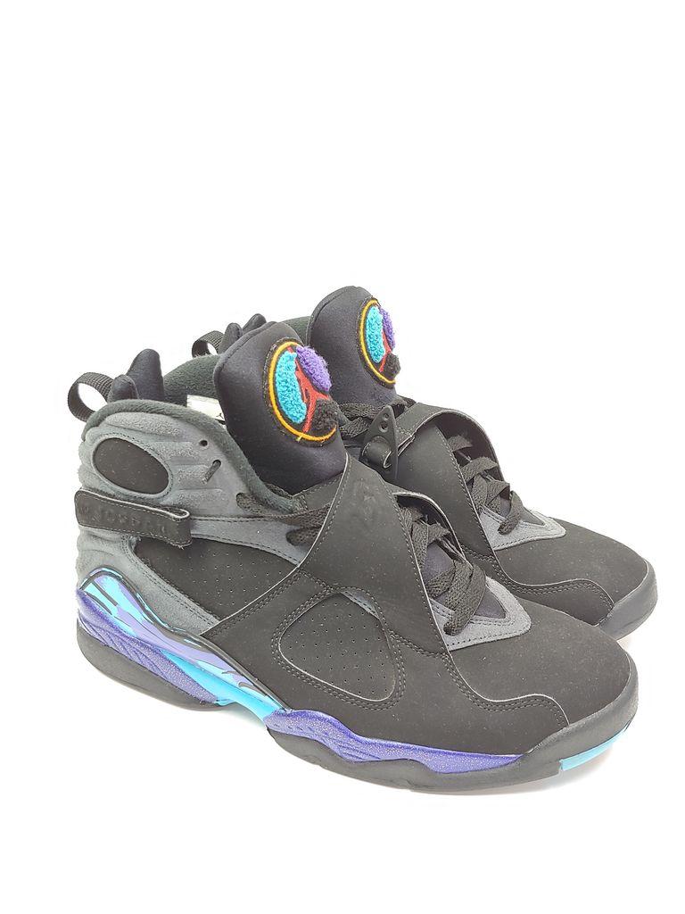 aa6c885d26c1 ... 305381 Pre-Owned Men s Nike AIr Jordan Retro 8 Aqua 2015 Remastered Size  9