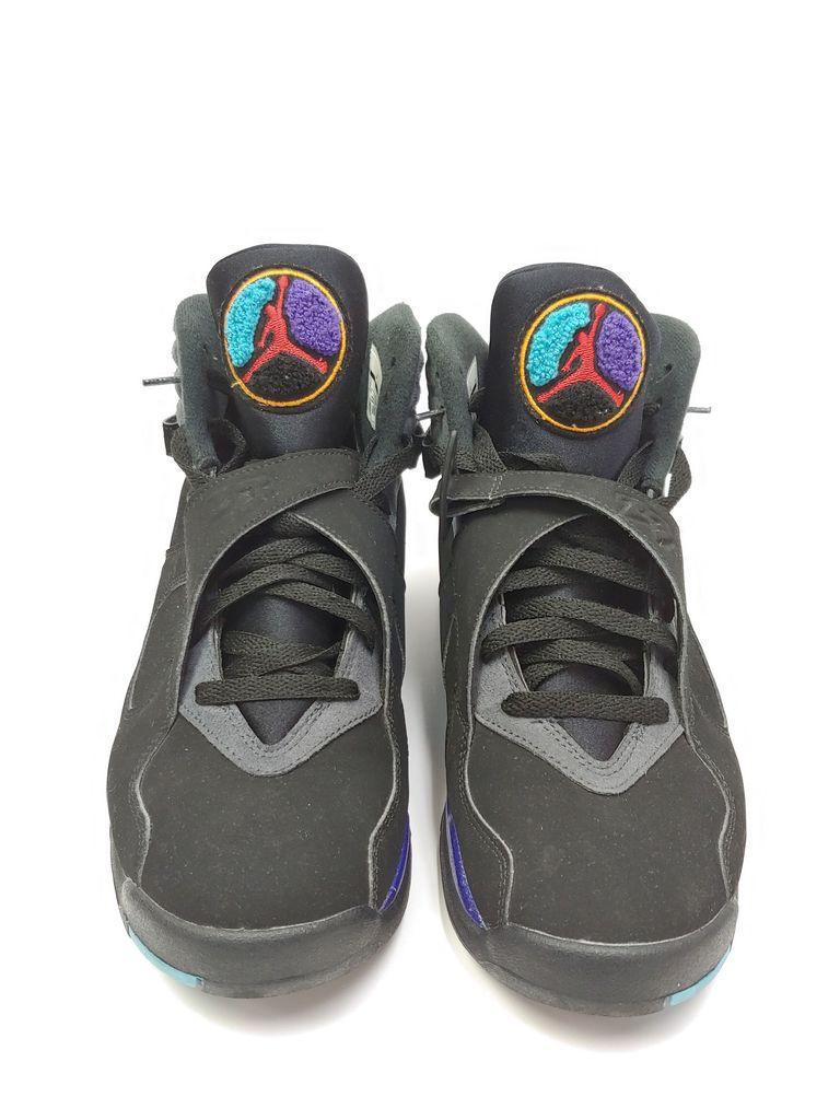 8bf188ba45ff25 Lot  Pre-Owned Men s Nike AIr Jordan Retro 8 Aqua 2015 Remastered ...