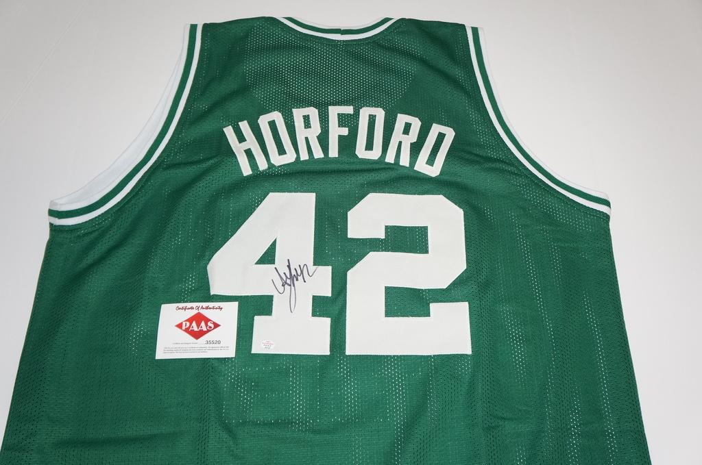 new product 1dd24 b260a Lot: Al Horford signed Boston Celtics jersey. | Proxibid ...