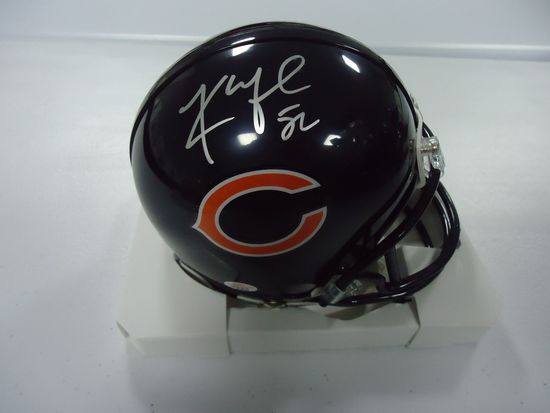 watch 3312e 1bff8 Khalil Mack Chicago Bears Signed Autographed mini football ...
