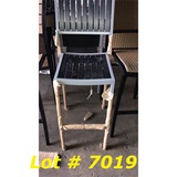 11 New Bar Side Chairs w/o Foot Rest