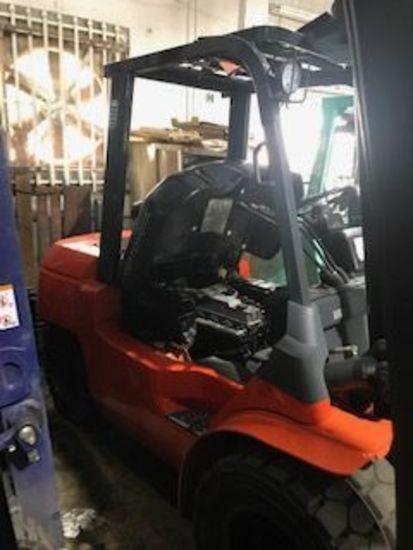 2008 model 7FDU35 8000# Diesel Forklift