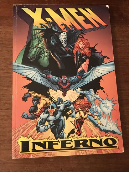X-MEN Inferno Hardcover book