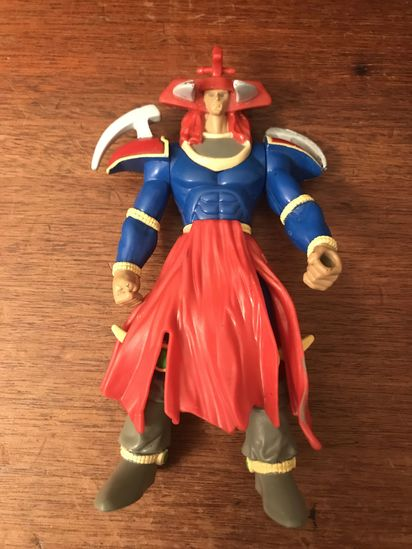 "1996 Flame Swordsman 6"" Kazuki Takahashi Action Figure"
